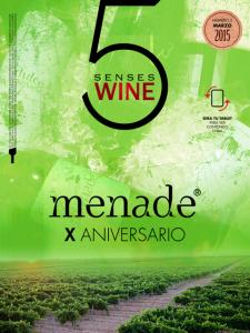 Portada del 2º número de 5 Senses Wine