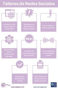 talleres de redes sociales en Coruña
