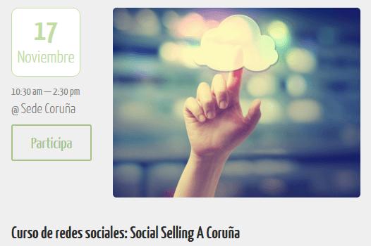 Curso de Social Selling en Consulta y Crece