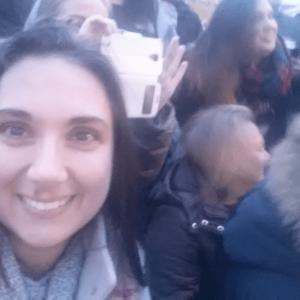 selfie en el momento del posado oficial de la quedada Coruña
