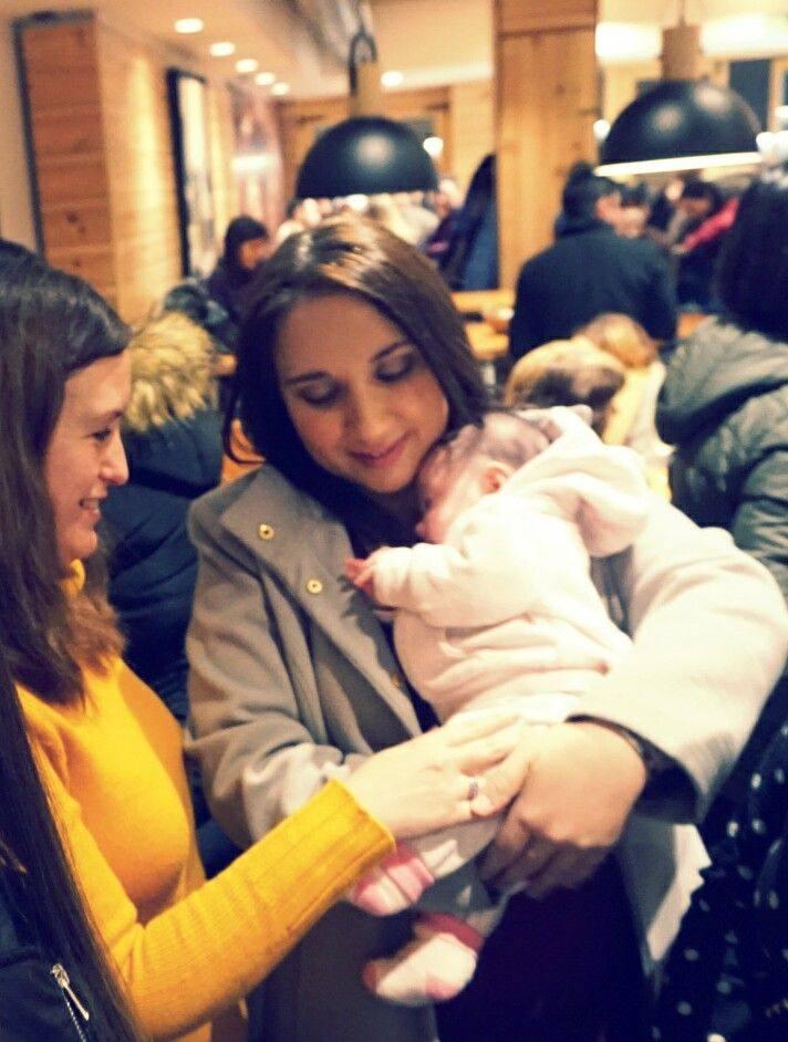 la asistente más joven del Coruña Bloggers