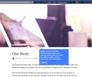 Nuevos cambios en las paginas de facebook