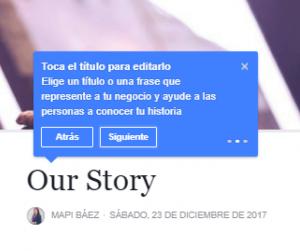 Aspecto de la Historia 2