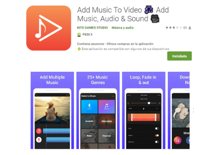 aaplicaciones android add music to video