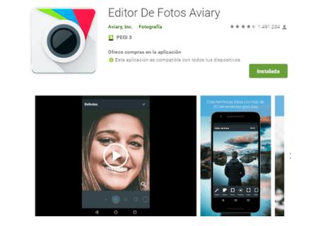 aplicaciones android aviary