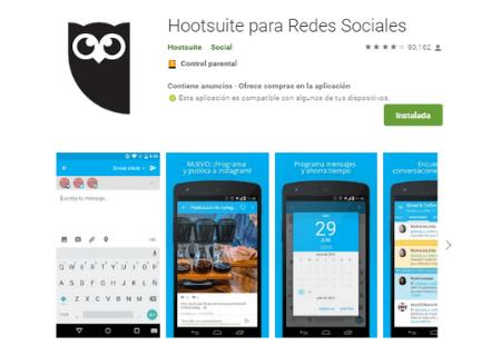 aplicaciones android hootsuite