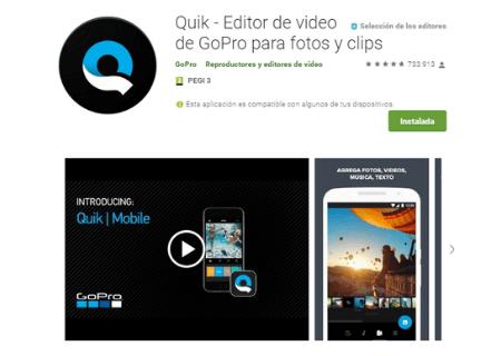 aplicaciones android quick go pro