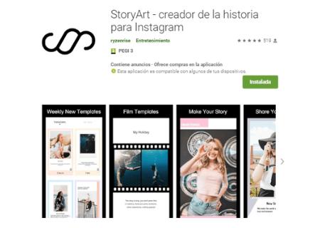 aplicaciones android story art
