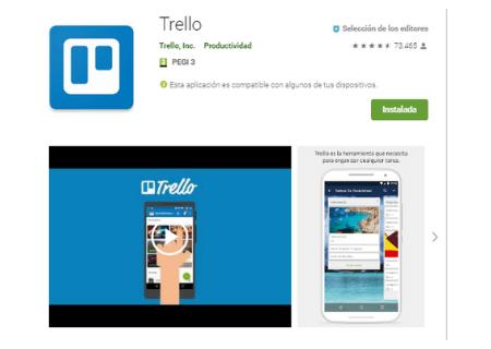 aplicaciones android trello