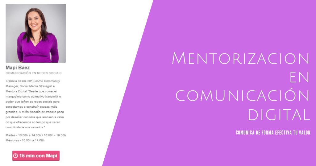 mentorización en comunicación digital talentia 2018