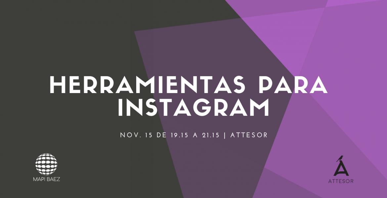 taller de herramientas android para instagram